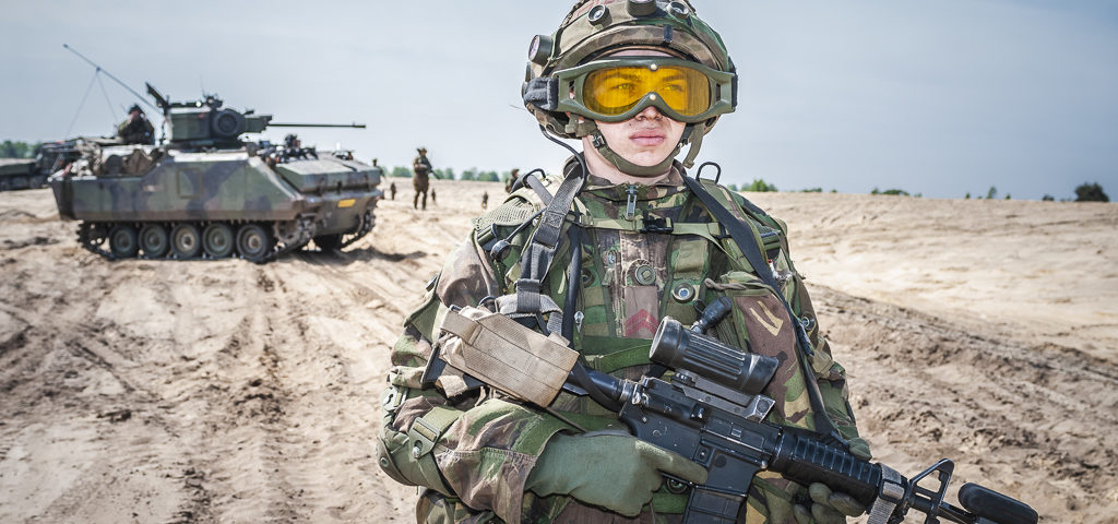 Falcon Integration, eindoefening  42 Brigade Verkennings Eskadron