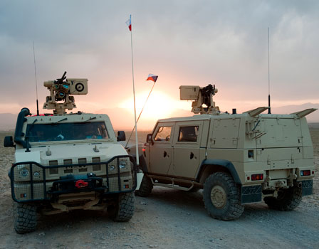 CARACAL, a new tactical vehicle for the German Bundeswehr
