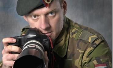 Gerben van Es, een gedreven combat-fotograaf in de frontlinie