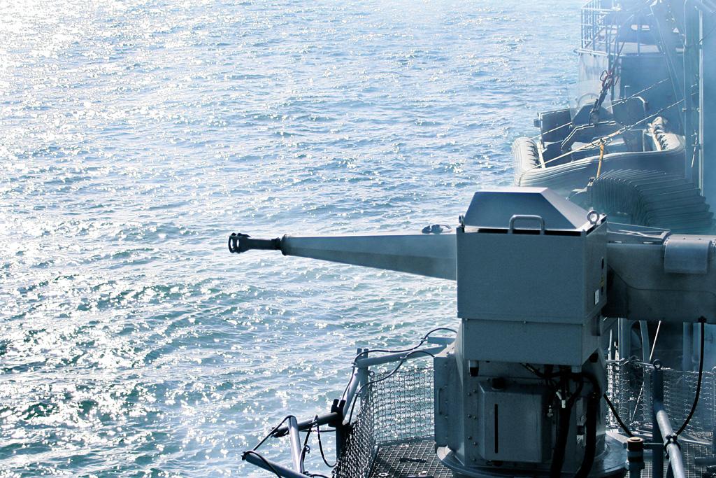 Rheinmetall to equip new German F125 frigates with MLG 27 light naval guns