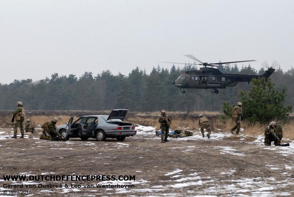 Korps Commandotroepen krijgt hoog bezoek