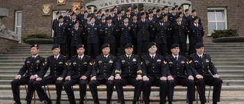 Kersverse kaderleden Korps Mariniers