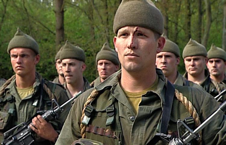 Videoserie over zware training aspirant commando's
