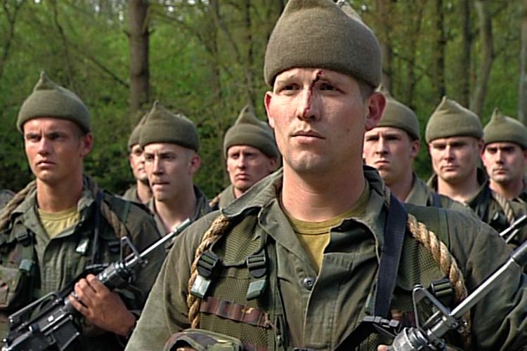 Videoserie over zware training aspirant commando�s