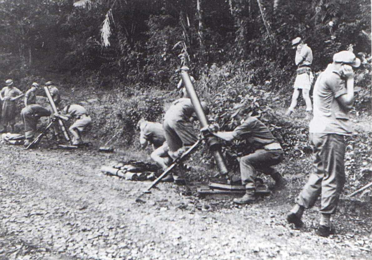 mortieropstelling