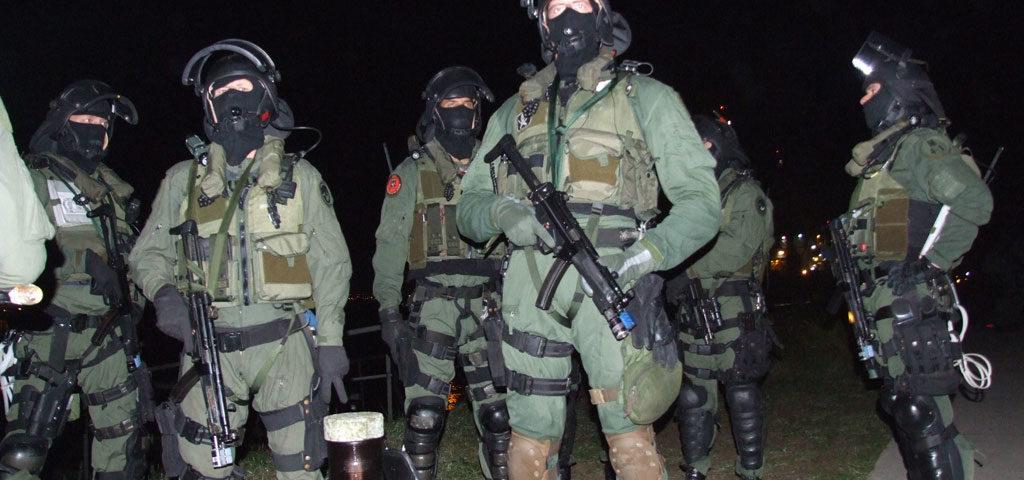 Elite operators of the Royal Netherlands Marine Corps
