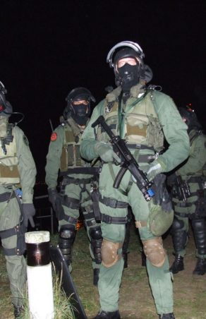 Elite operators of the Royal Netherlands Marine Corps
