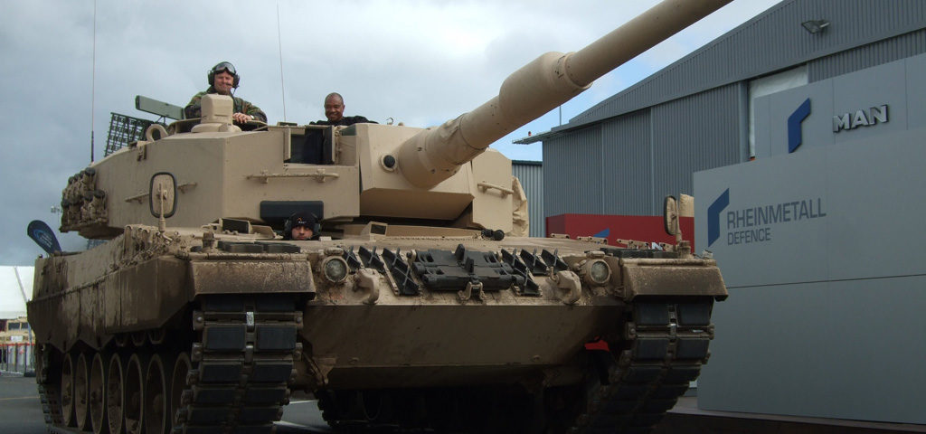 Leopard 2 MBT steals the show in South Africa