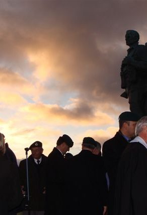 Remembrance Sunday in Schotland