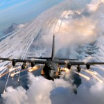 AC-130_Flares
