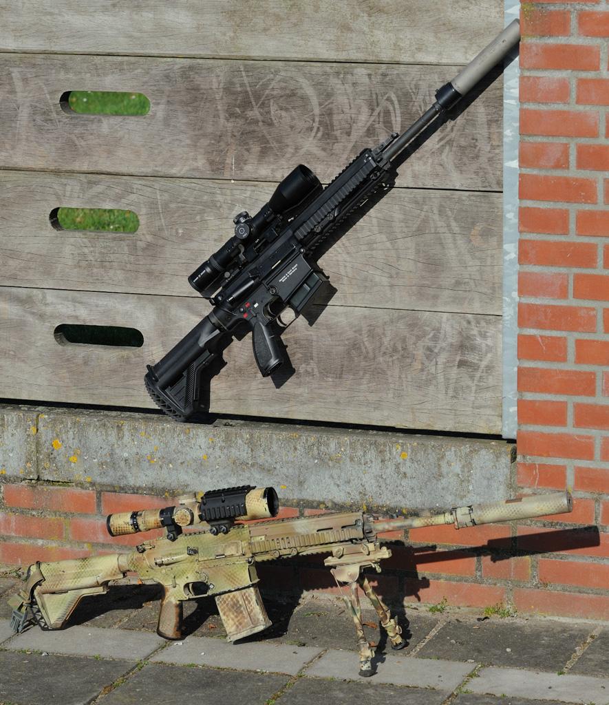 Customiser sa réplique : Le HK417 Sniper du KCT HK417_Duo1