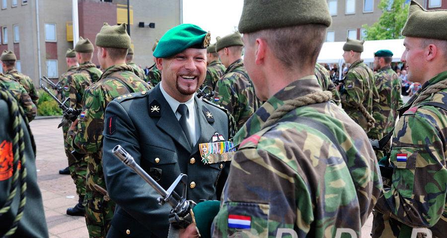Vierentwintig nieuwe commando's warm onthaald