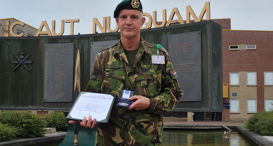 Commando-overdracht KCT en uitreiking zilveren legpenning CLAS