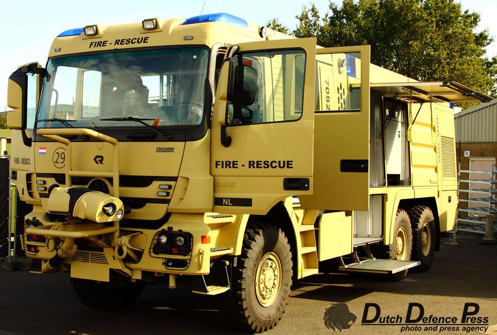 Rosenbauer-Kenbri fire rescue vehicle