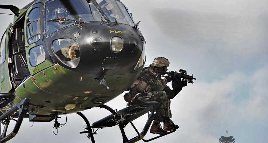 Night Hawk 2011, voor Special Forces een waar trainings-Walhalla