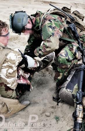 'Medic Special Forces' is letterlijk van levensbelang