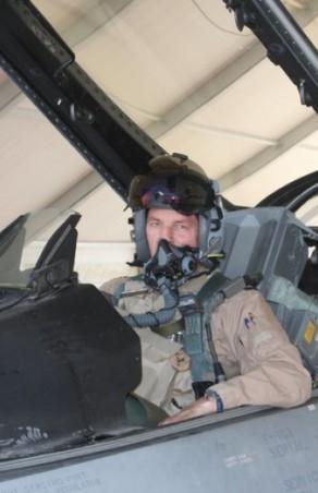 Commandant vliegbasis Volkel klokt 3000 uur op de Viper