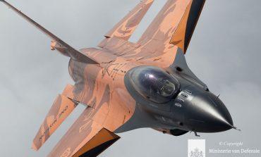 F-16 demoteam debuteert zondag boven Volkel