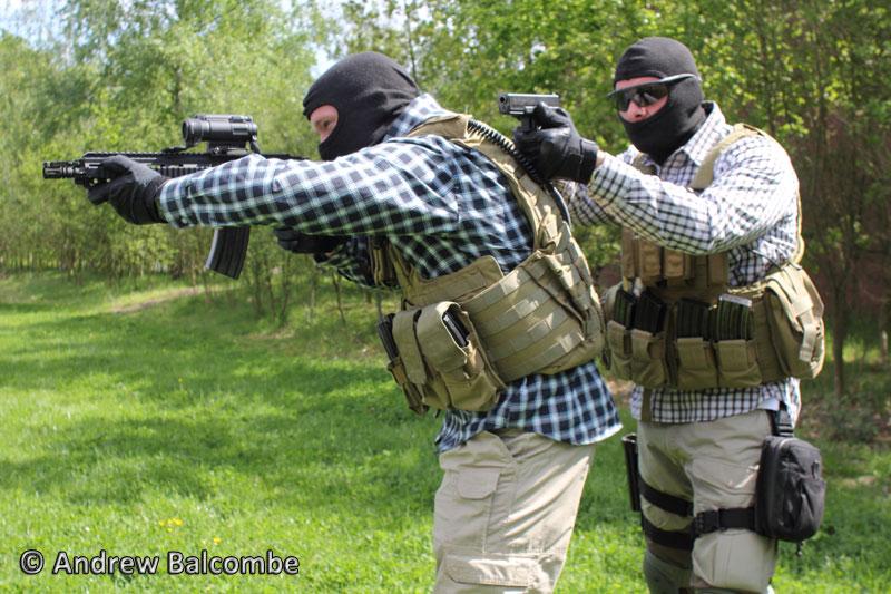 Training exercise BSB (Brigade Speciale Beveiligingsopdrachten)