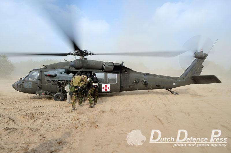 """""""Tactical Combat Casualty Care"""" op de hei"""