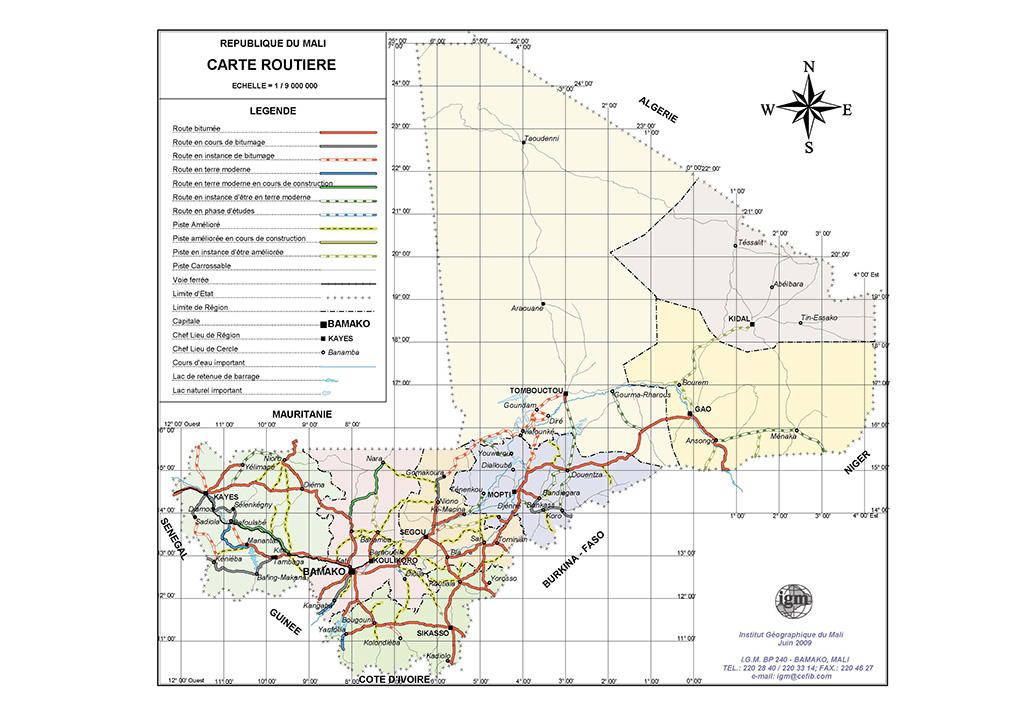 Mali-roadmap-A4--IGM-June-2009