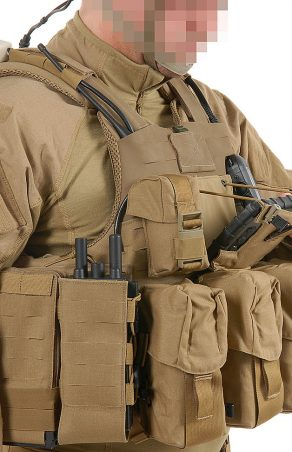 Het Smart Vest, één soldier modernisation systeem voor de Benelux