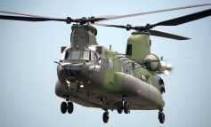 Canada receives first CH-147F Chinook
