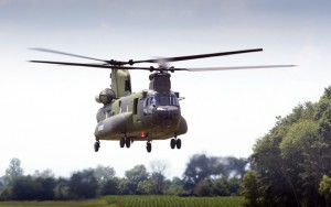 Canada's CH-147F Chinook makes its 1st flight