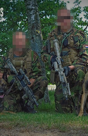 SOF-operators bijten zich vast in uniek K9 programma bij het KCT