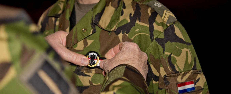 Commando's beloond voor operationele parachutesprongen