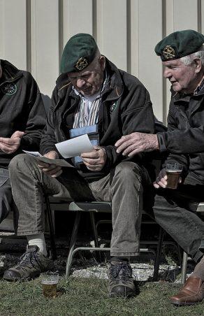 Heimwee naar de 'commandolucht' en stoere verhalen uitwisselen met de maten