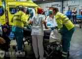 Calamiteitenhospitaal oefent in het groot