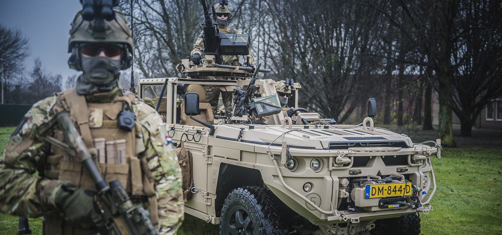 Handover of first Defenture ATTV Vector