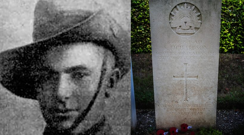 Pte. Sidney Richardson, a personal story from the Great War