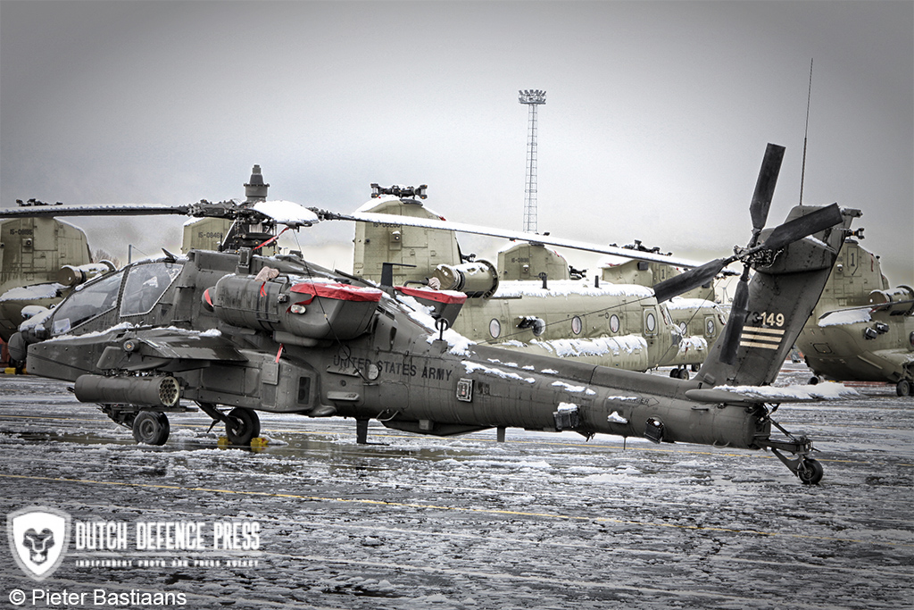 United States Army's 1st Combat Aviation Brigade Arrives in Europe
