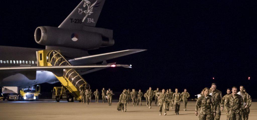 Militairen teruggekeerd uit Afghanistan