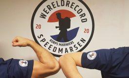 Wereldrecord Speedmarsen (WRS2020) op 24 oktober