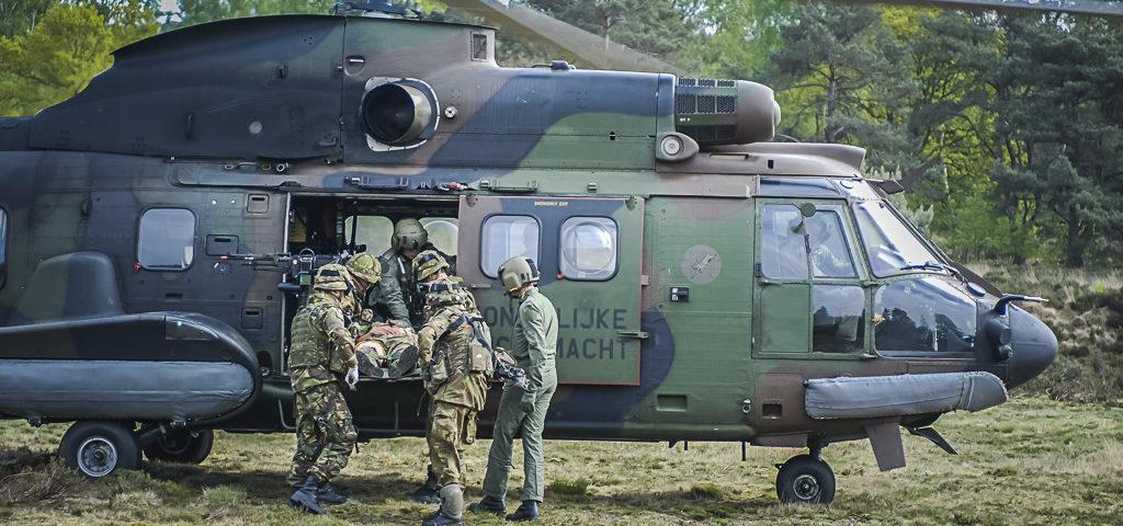 Houdt Defensie beademingsapparatuur achter