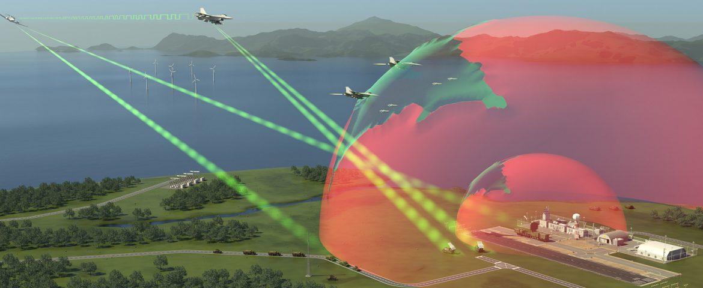 Elektronisch schild voor luchtmachten