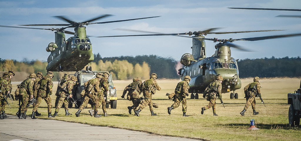 Operational readiness for Netherlands new air manoeuvre brigade