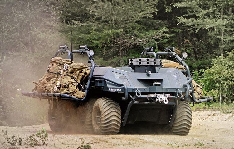 Groot-Brittannië koopt Rheinmetall Mission Master – Cargo