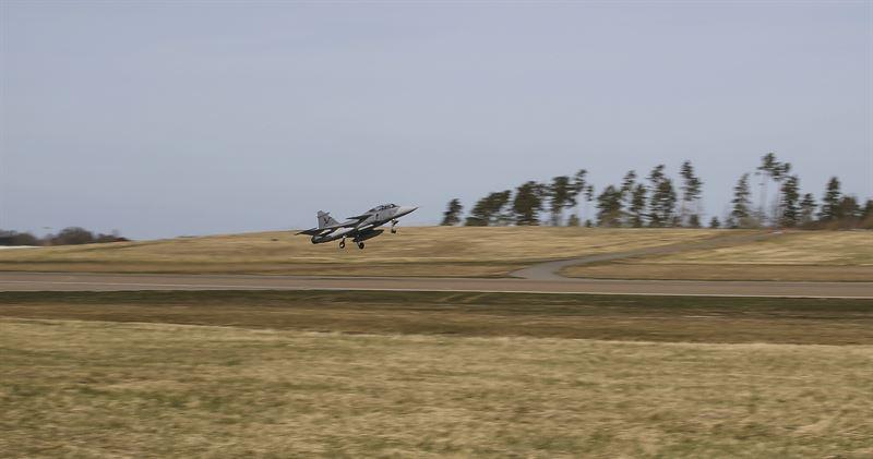 Eerste luchtproef Saab X-band figher AESA radar