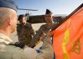 Nieuwe commandant Apache-detachement