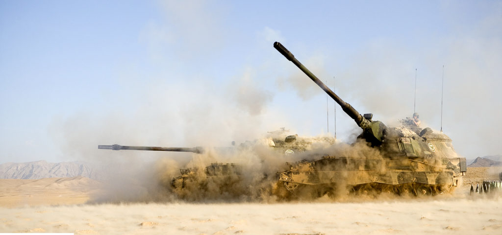 Operation Medusa marks Combat Debut PzH-2000NL