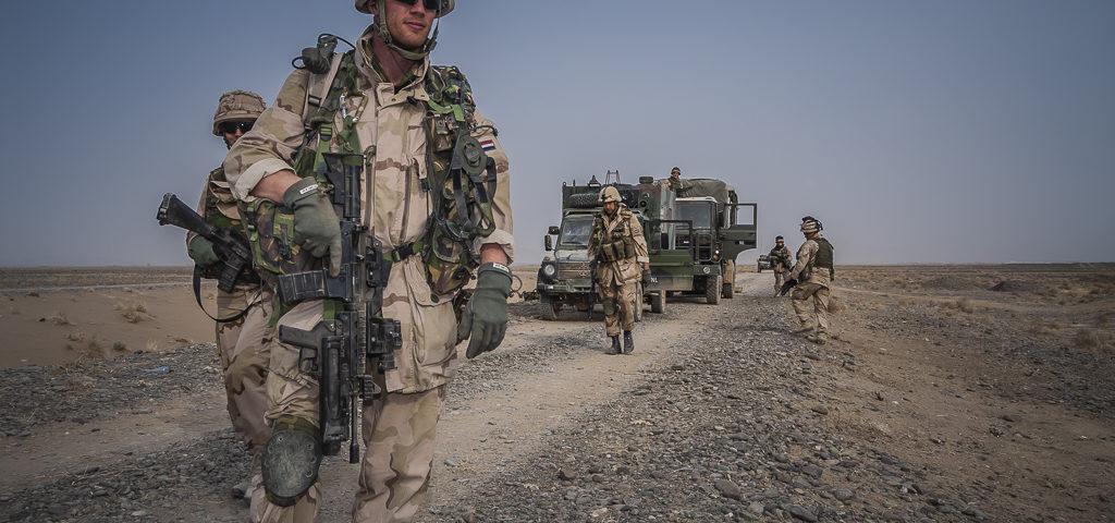 'Adel verplicht', Koningscompagnie treedt op in Zuid-Afghanistan