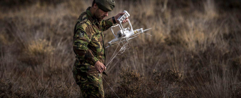 Defensie onderzoekt bestrijding dronedreiging