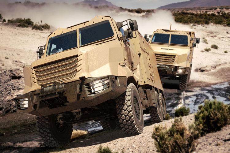ARQUUS lanceert ARMIS vrachtwagen-familie