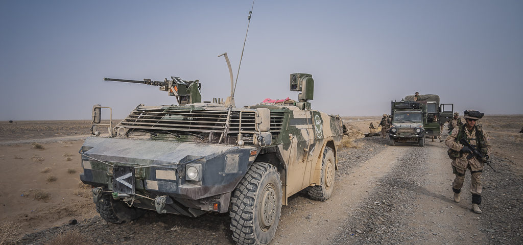 Verkenners treden in Kandahar op als bodyguard