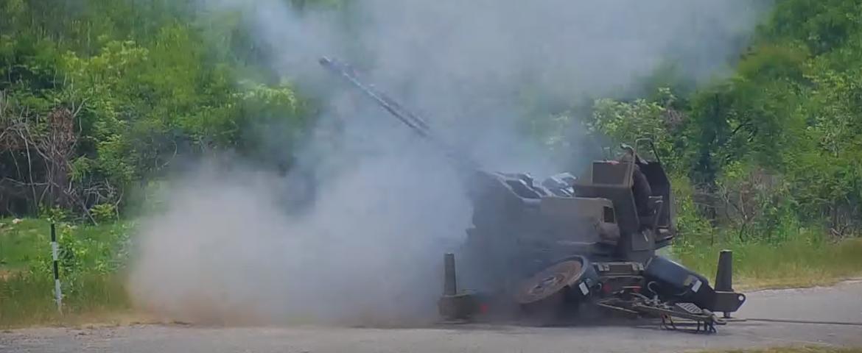 Rheinmetall air-defence showcase