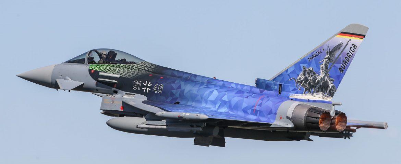 38 Airbus Eurofighters voor Duitsland